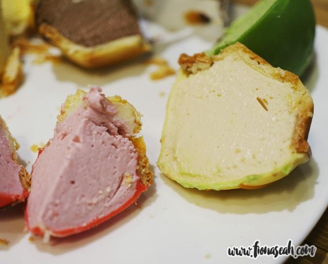 Mini Raspberry Pie and Mini Butterscotch Pie