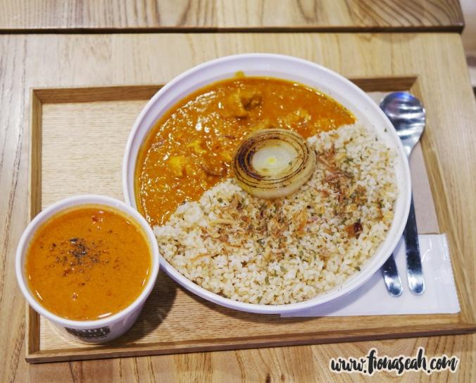 Onion Chicken Curry