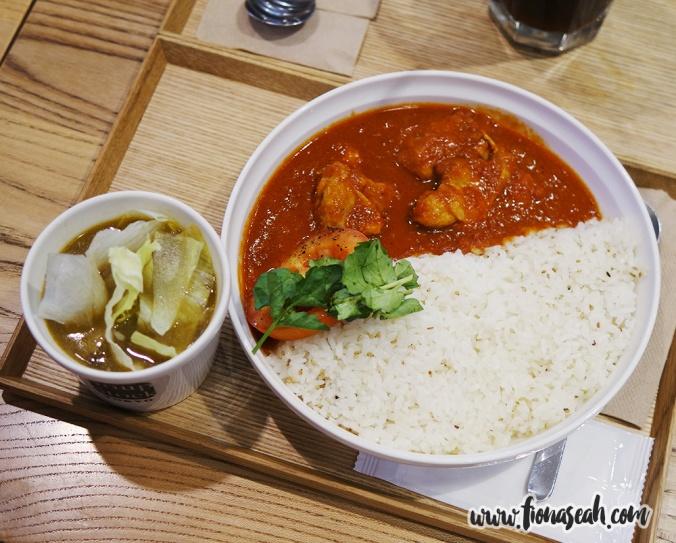 Tomato Chicken Curry