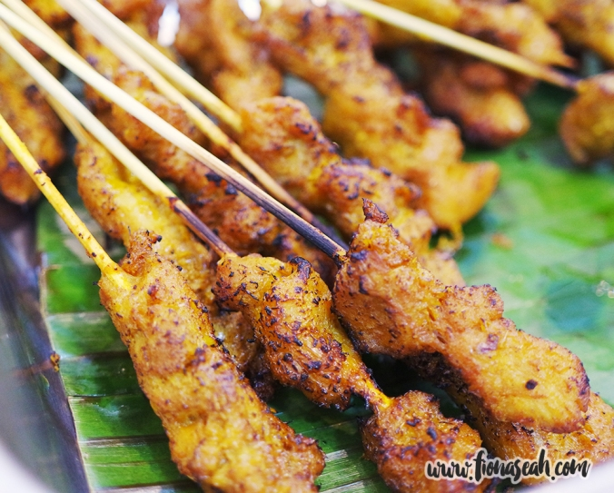 Homemade Chicken Satay (S$7.90)