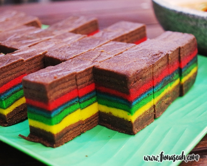 Rainbow Kueh Lapis