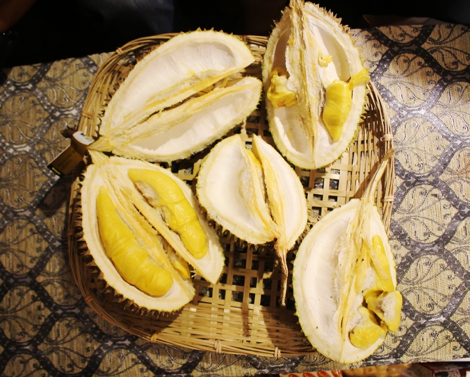 "But those ""branded"" durians are guaranteed to come with rich, creamy flesh (photo credit: The Influencer Network)"