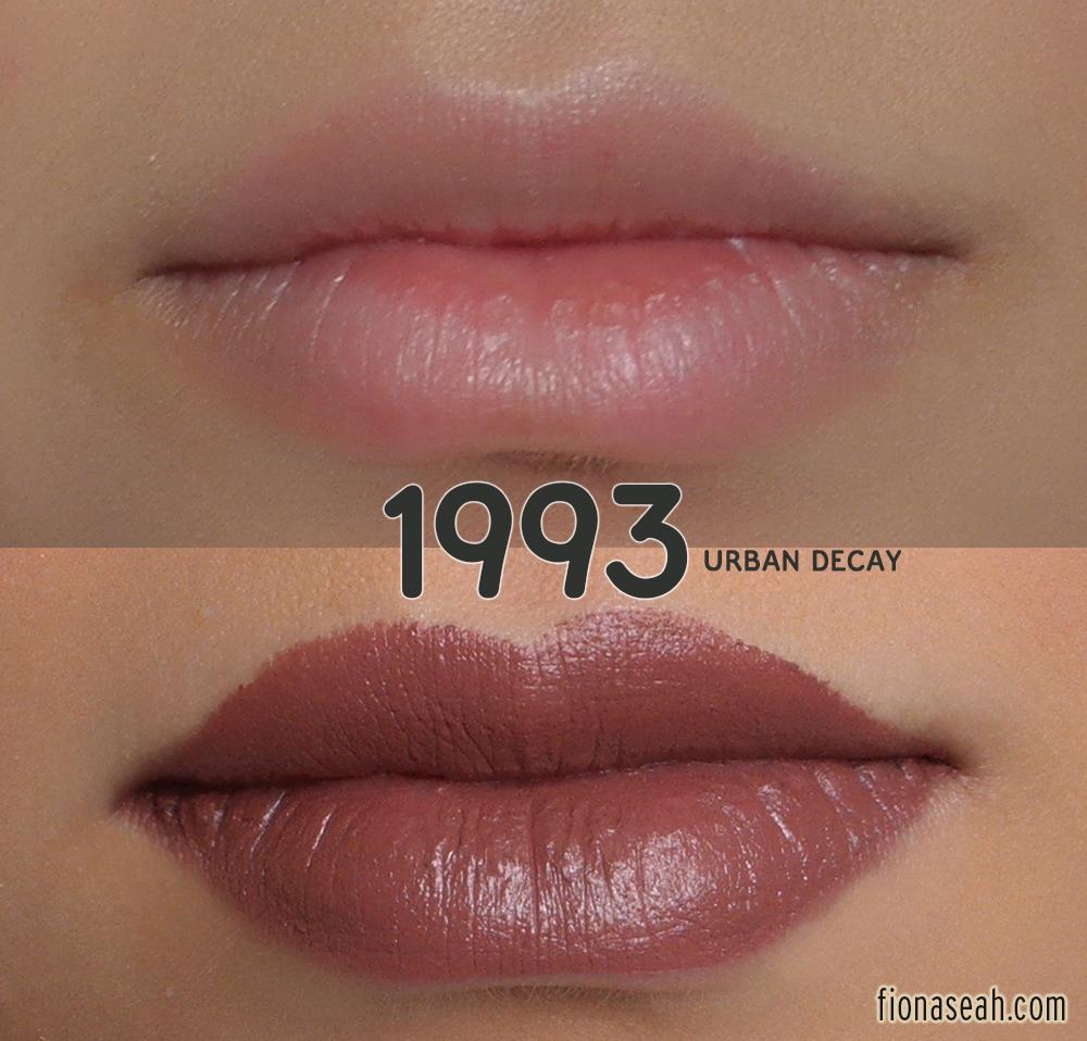 review urban decay matte revolution lipsticks 1993 tilt after dark blackmail. Black Bedroom Furniture Sets. Home Design Ideas