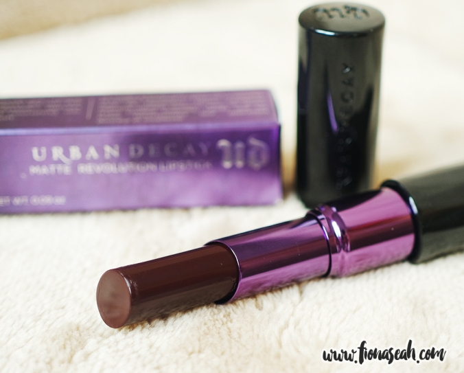 Blackmail is a matte deep berry wine (US$22)