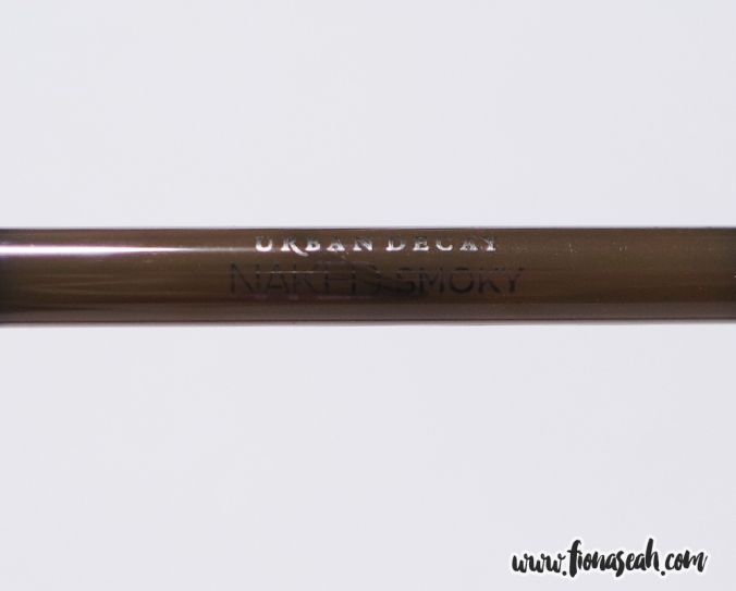 Naked Smoky Dual-ended Brush