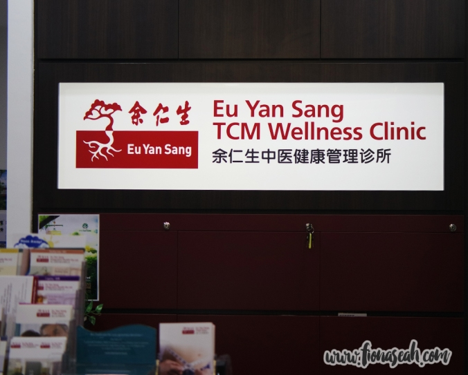 Eu Yan Sang TCM Wellness Clinic at Novena Specialist Centre