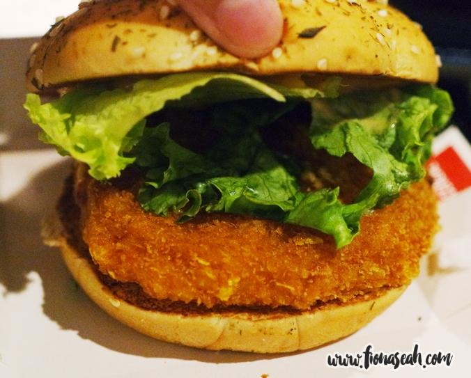 Ebi-Kase Burger