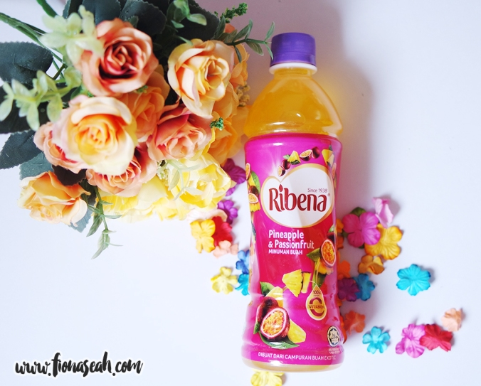 Ribena's Pineapple & Passionfruit fruit drink