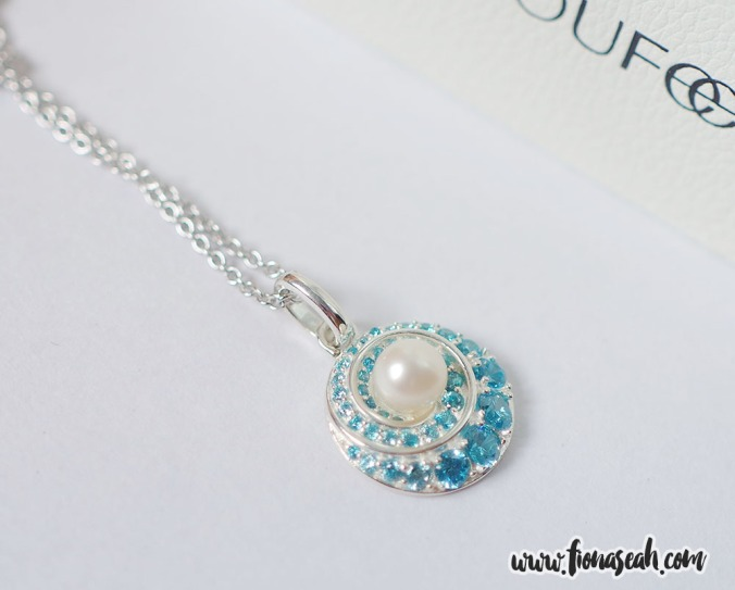 Whirlpool Pearl Necklace 925 Sterling Silver