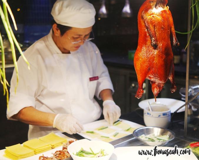 Oriental Roasted Duck Crêpes