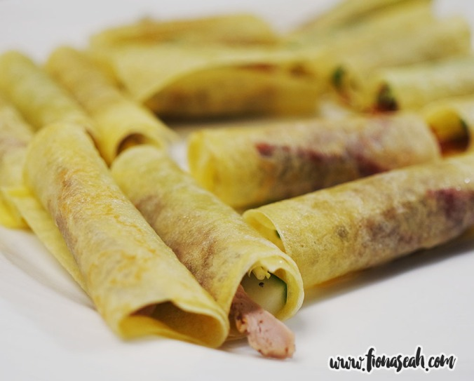 Oriental Roasted Duck Crêpes