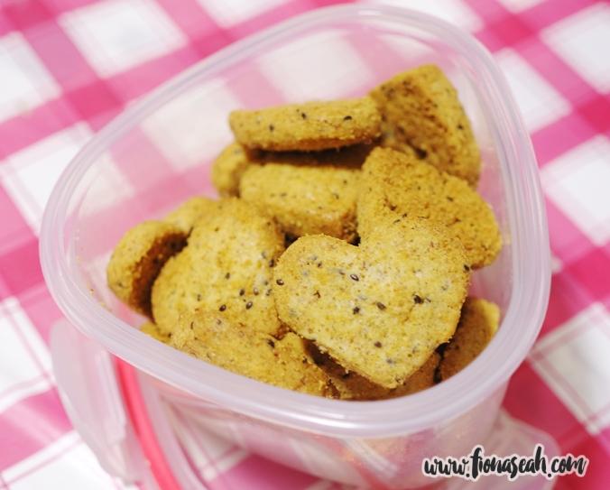 Buckwheat Chia Seed Cookies