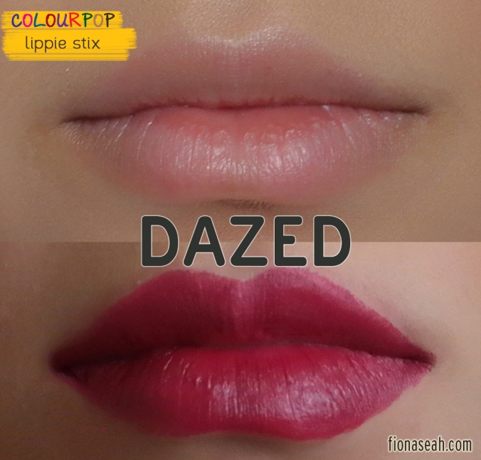 Dazed Lippie Stix