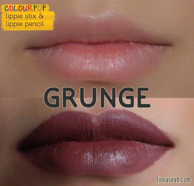 Grunge Lippie Stix and Lippie Pencil