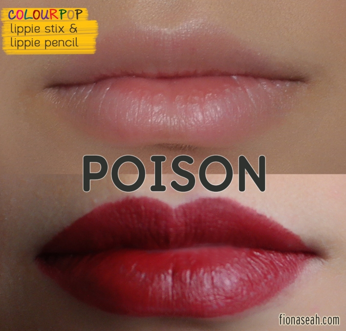 Poison Lippie Stix and Lippie Pencil