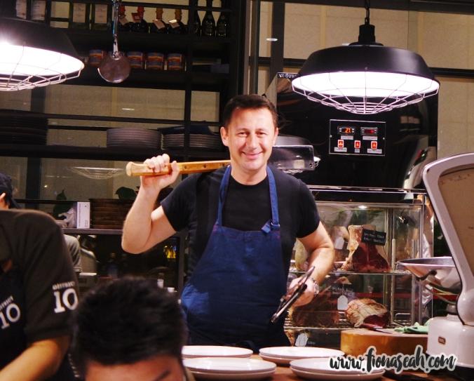 Chef Luca Pezzera