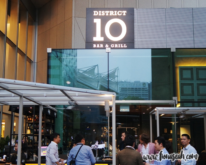 District 10 Bar & Grill at Suntec City