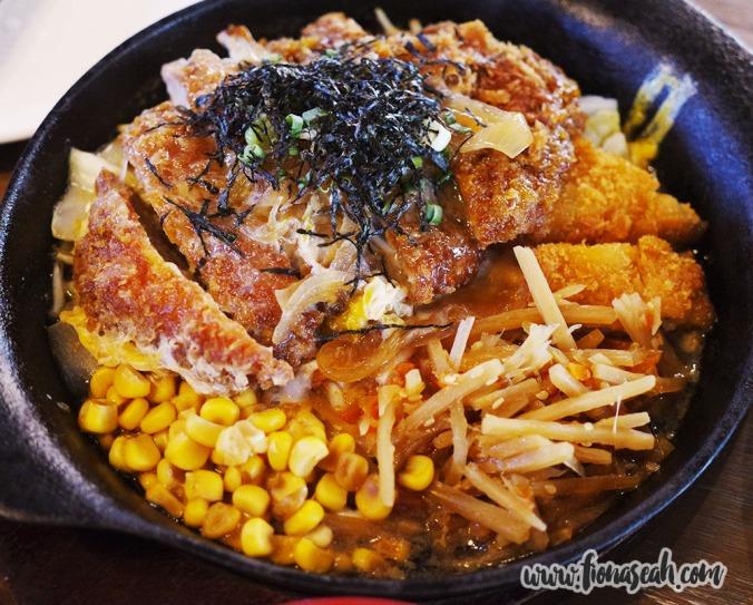 Pork Katsu with Egg