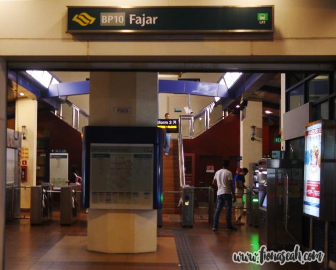 Fajar LRT station