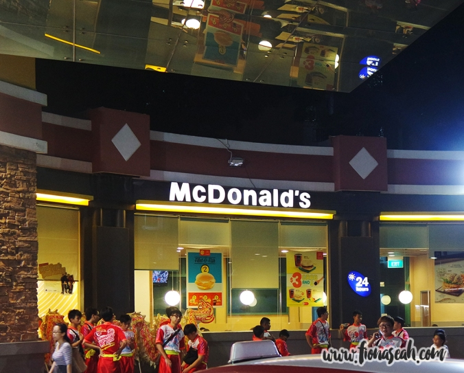 McDonald's at Fajar Shopping Centre