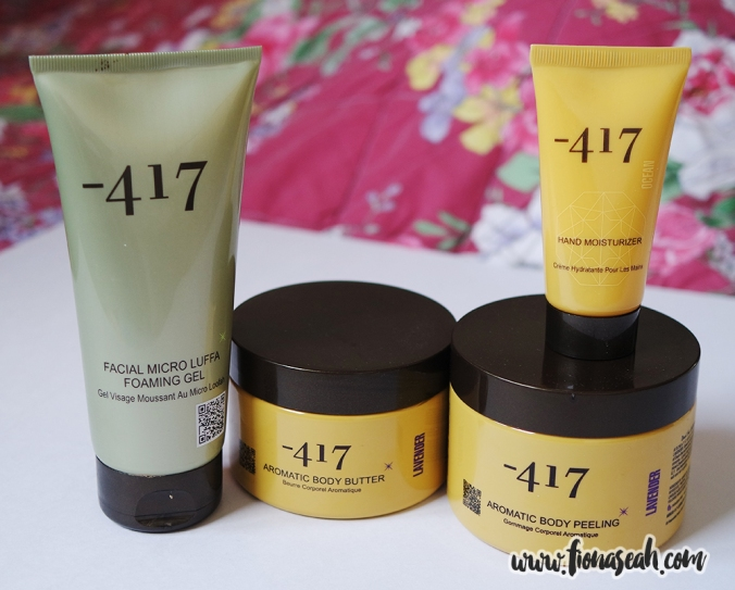 The -417 products that will be reviewed in this post