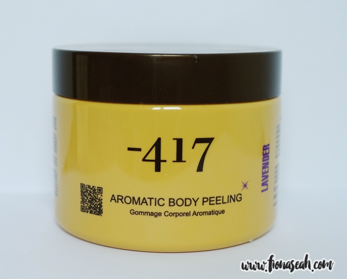 -417 Aromatic Body Peeling in Lavender