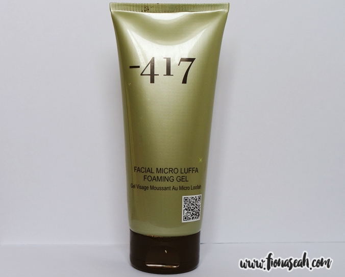 -417 Facial Micro Luffa Foaming Gel (S$120)