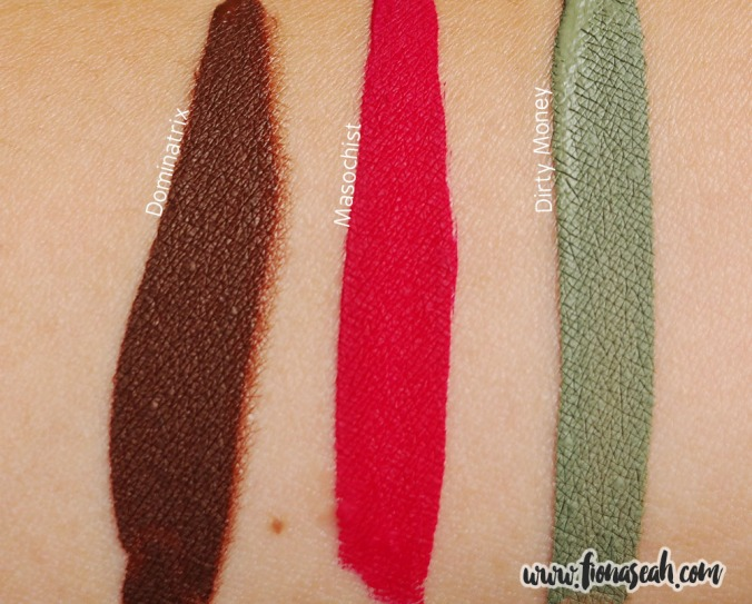 Jeffree Star Velour Liquid Lipsticks (swatches)