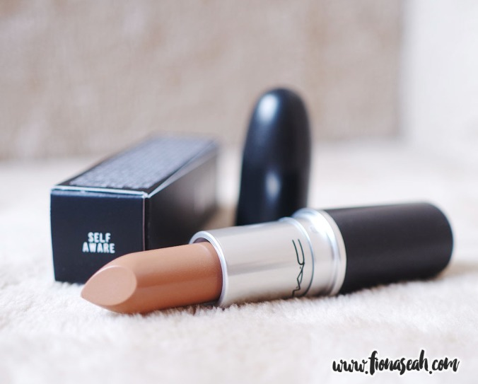 Self Aware is a coffee nude with Amplified finish (US$17)