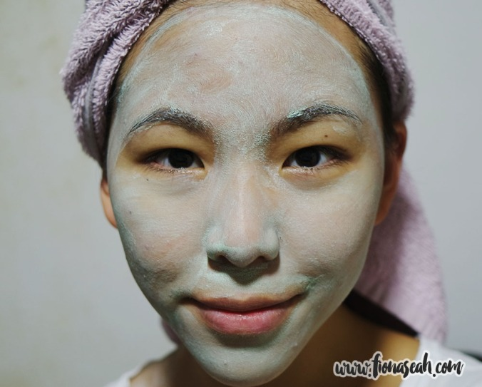 With Clay Mint Mask