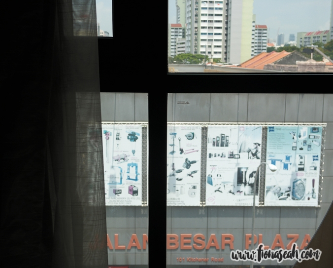 Overlooking Jalan Besar Plaza