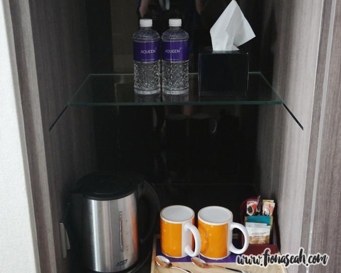 The mini pantry!