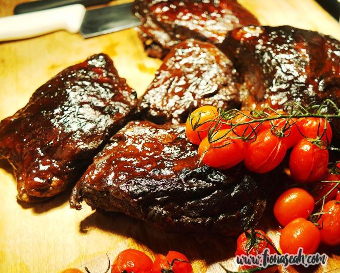 Roasted Texas BBQ Beef Short-Rib (S$120+, 1kg)