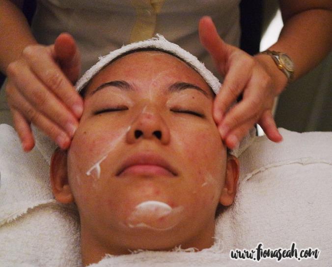Calming the skin