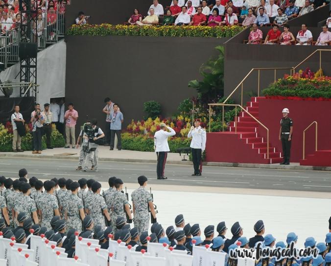 The Parade Commander