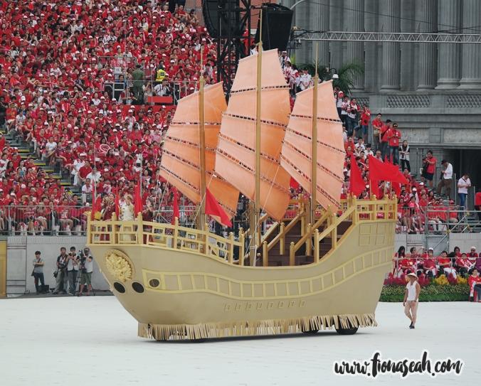 The ship that brought Sang Nila Utama to Singapura