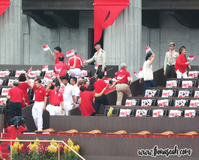 The arrival of Members of Parliament