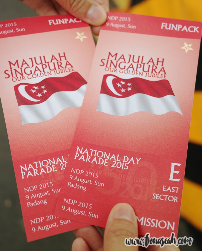 NDP 2015 tickets