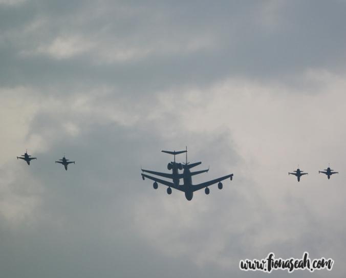 More aerial display