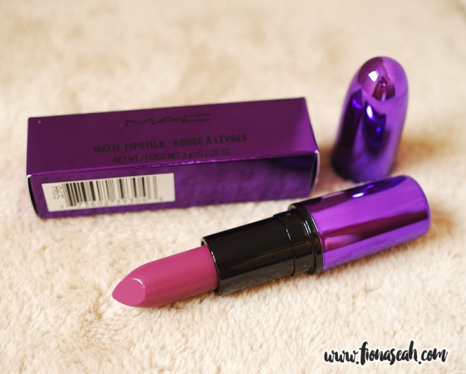 Evening Rendezvous is a deep reddish purple with Matte finish (US$18)