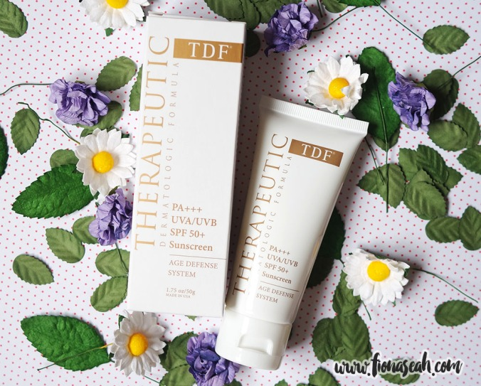 TDF Age Defense PA+++ UVA/UVB SPF 50+ Sunscreen (1.75 oz/50g)