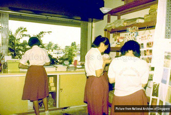 bedok-north-secondary-school-students-in-library-1981-1986-NAS