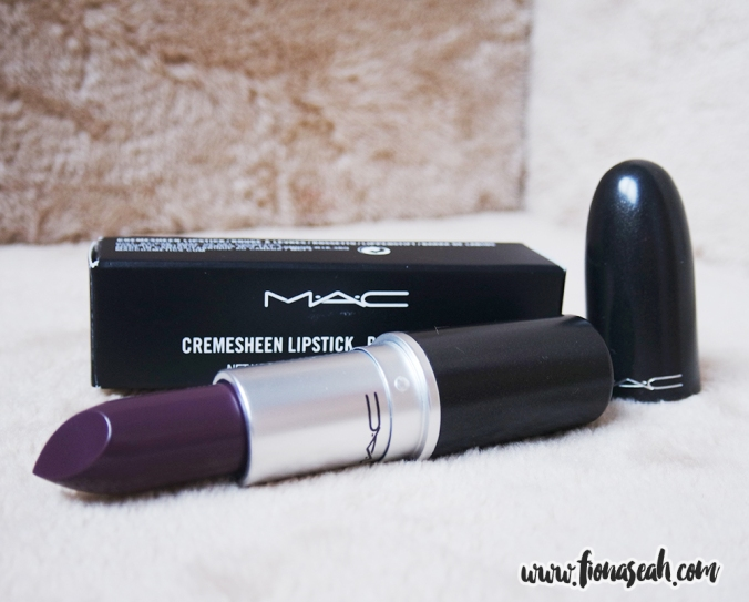 Boyfriend Stealer is a blackened plum with Cremesheen finish (US$17)