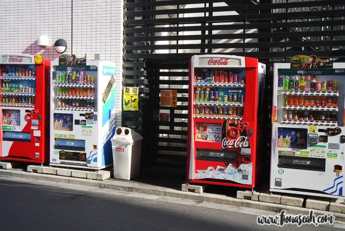 Vending machines, vending machines everywhere!