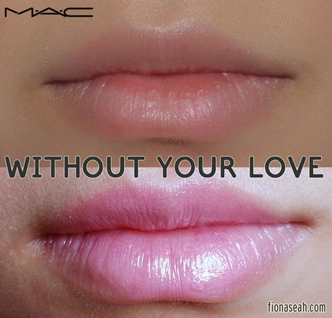MAC Without Your Love