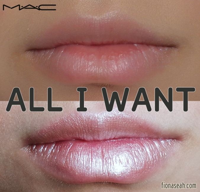MAC All I Want