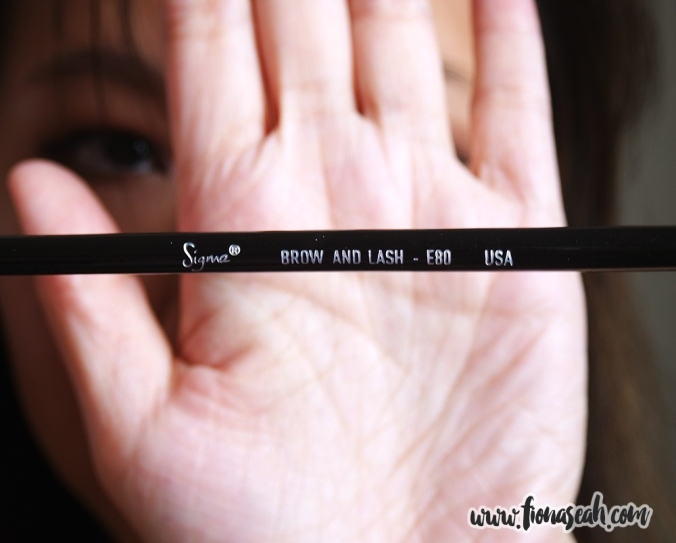 Sigma Beauty Brow and Lash Brush