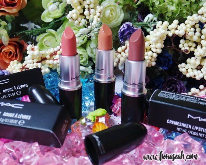 MAC Faerie Whispers Collection (lipsticks)