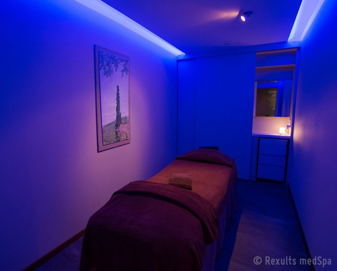 Face treatment room