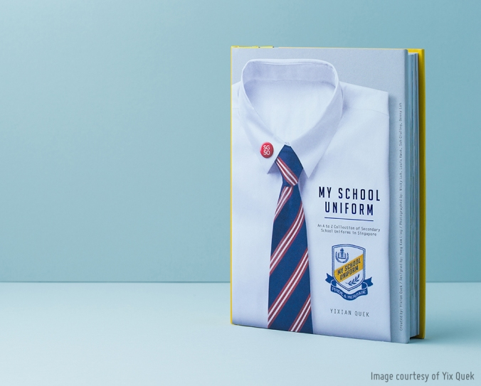 My School Uniform photography book (designed by Yong Kam Ling)
